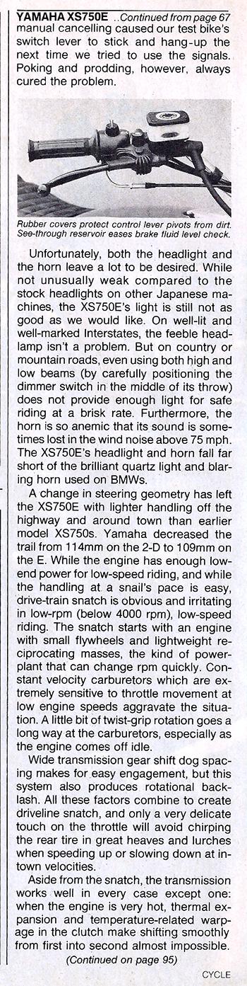 1978 Yamaha XS750E road test 6.jpg