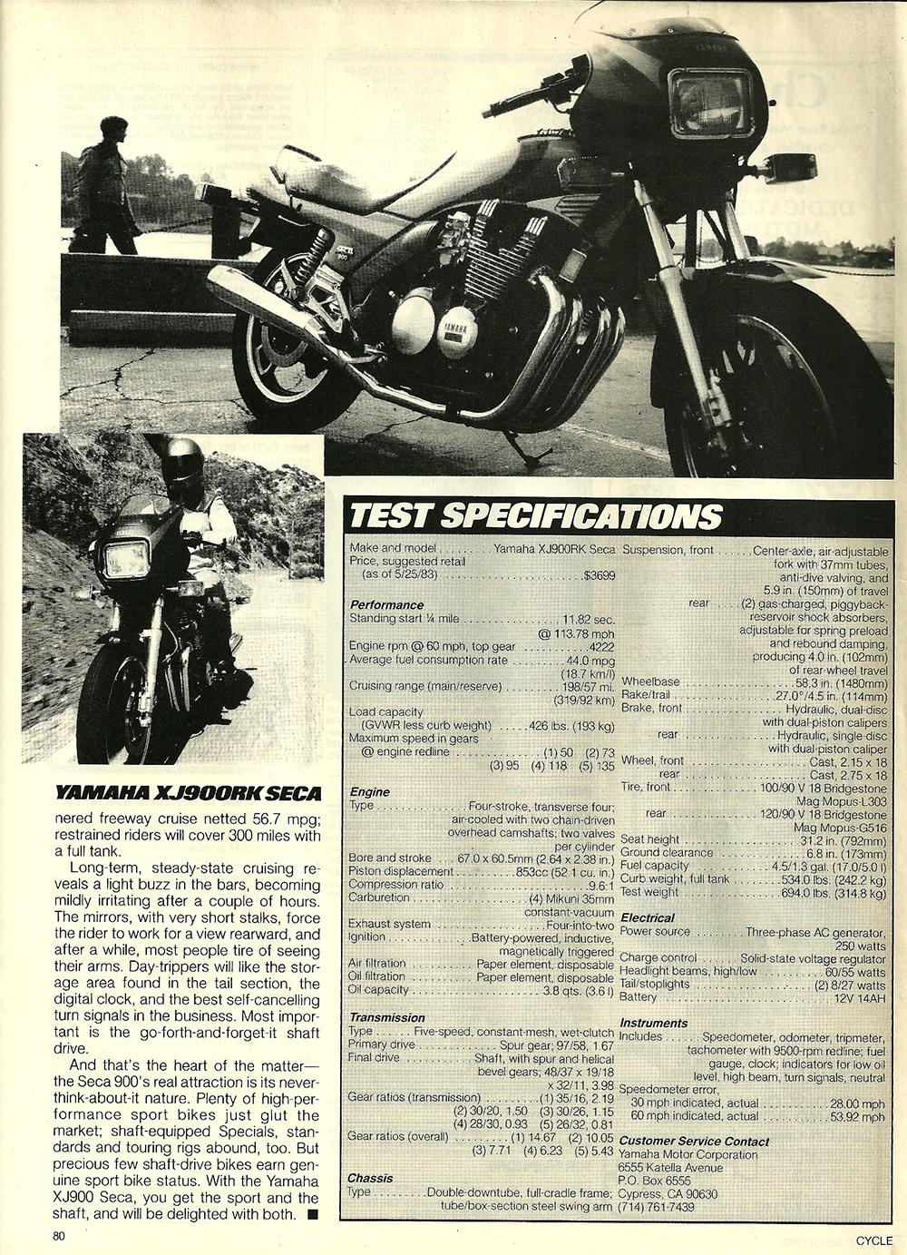 1983 Yamaha XJ900RK Seca road test 7.jpg
