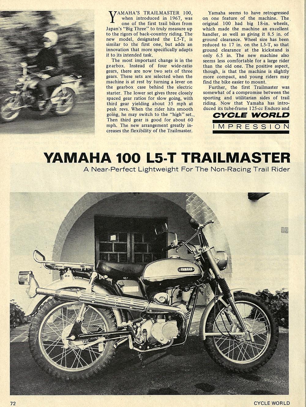 1969 Yamaha L5T Trailmaster 100 road test 01.jpg