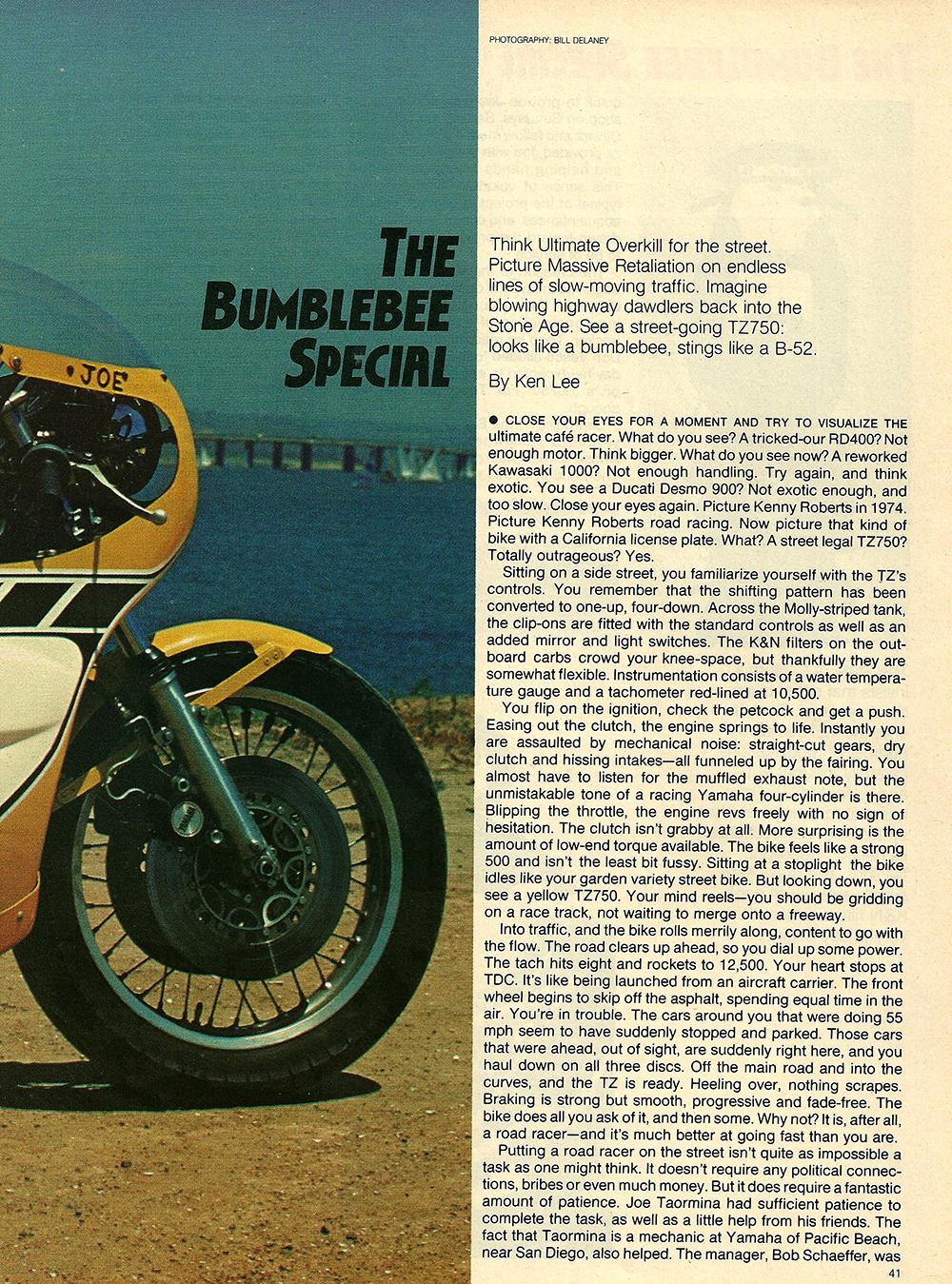 1978 Yamaha TZ750 Bumblebee Special test 02.jpg