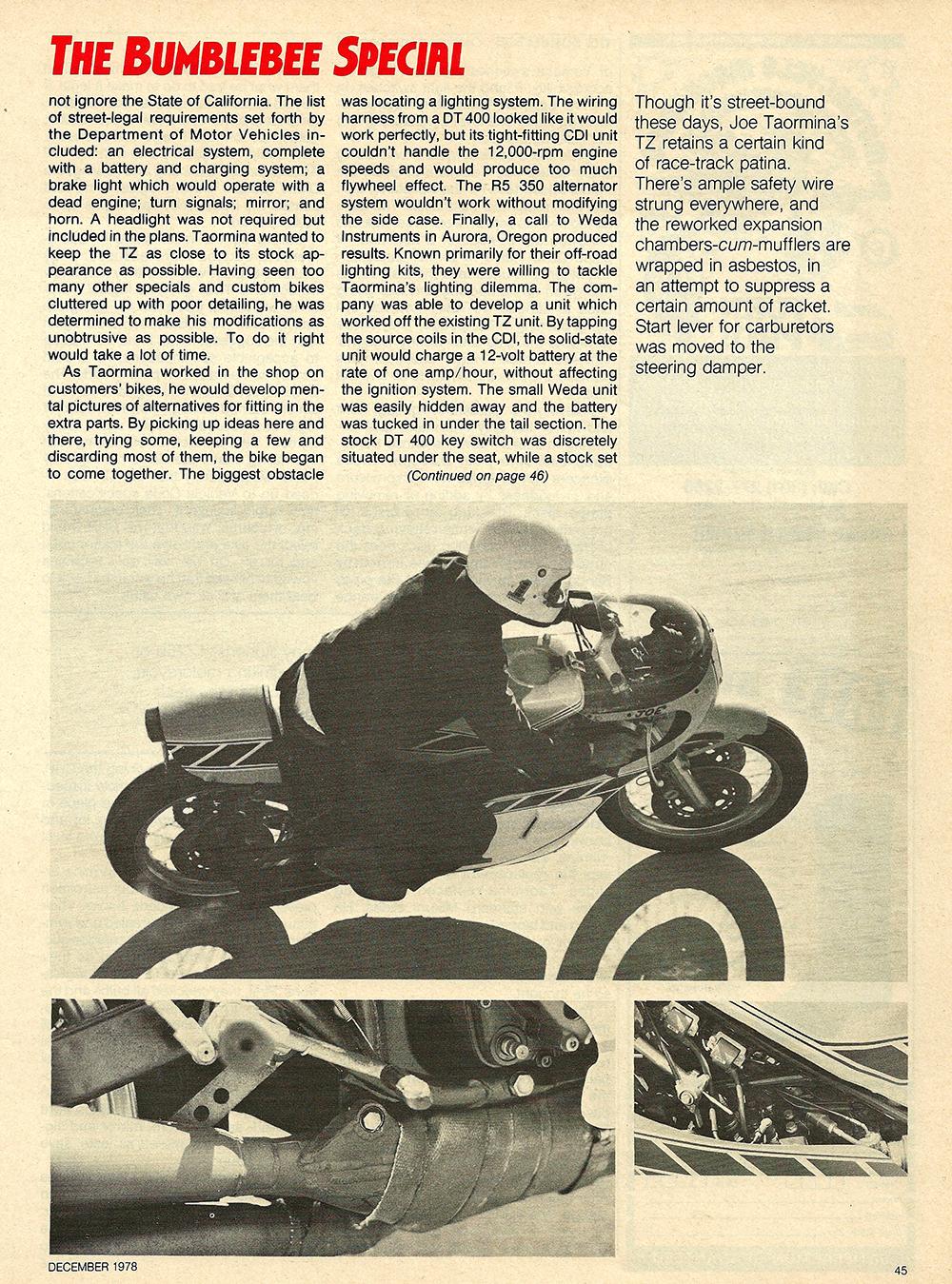 1978 Yamaha TZ750 Bumblebee Special test 04.jpg