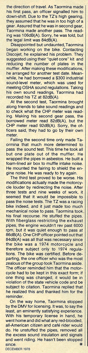 1978 Yamaha TZ750 Bumblebee Special test 06.jpg