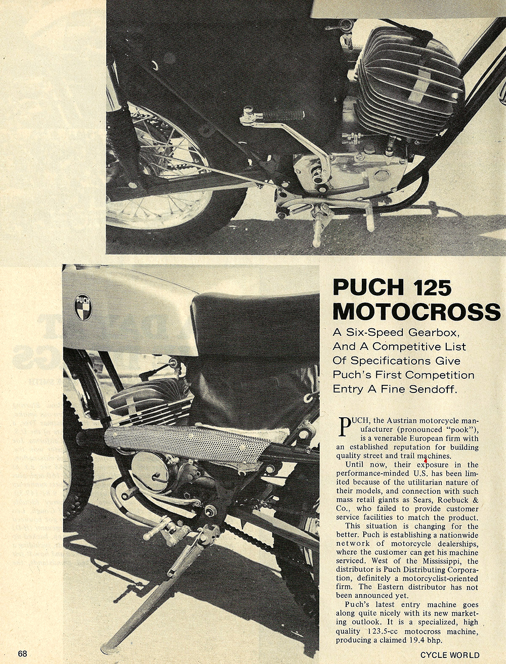 1970 Puch 125 Motocross road test 01.jpg