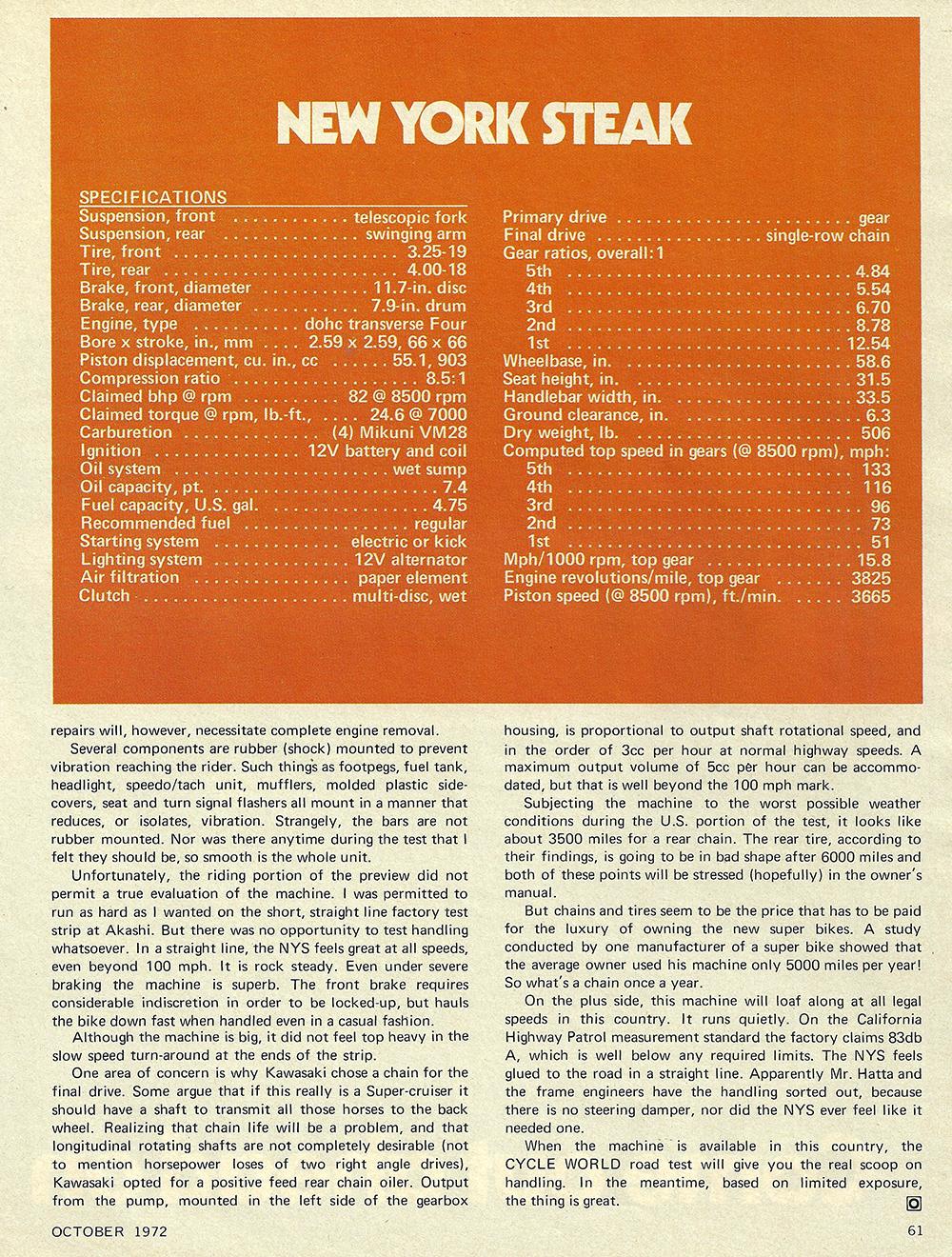1972 Kawasaki Z1 900 New York Steak road test 06.jpg