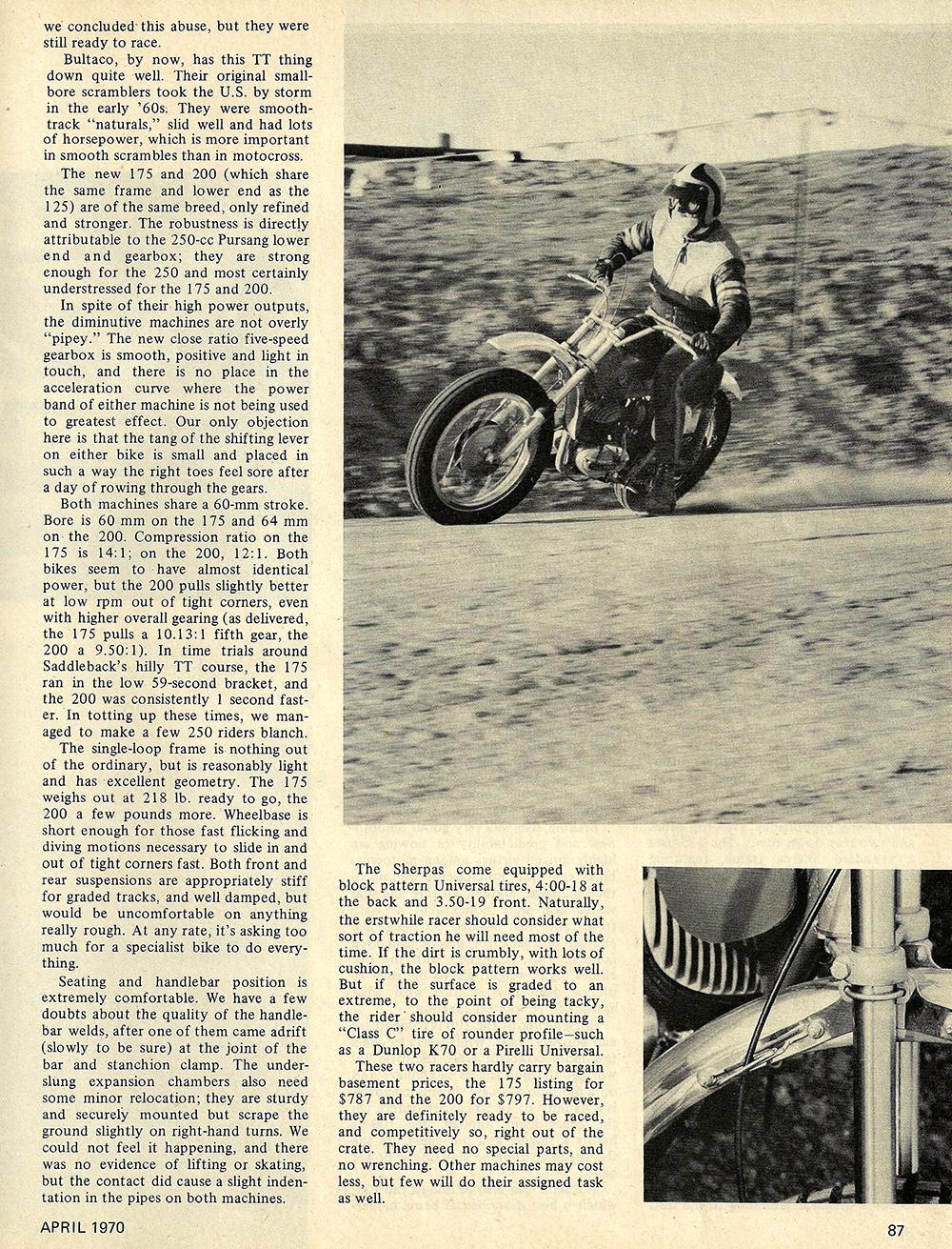 1970 Bultaco Sherpa 175 and 200 road test 02.jpg
