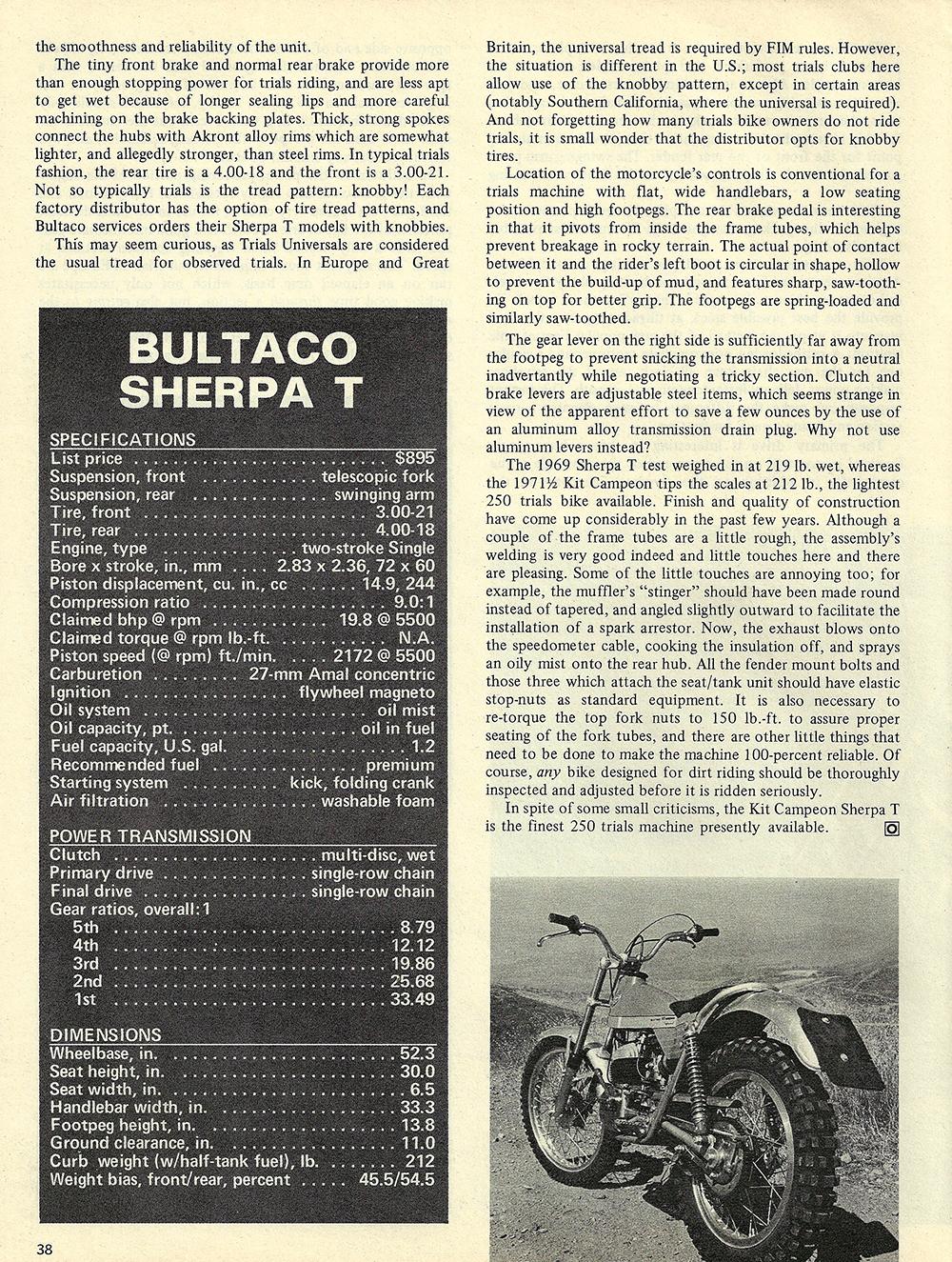 1971 Bultaco Sherpa T road test 03.jpg