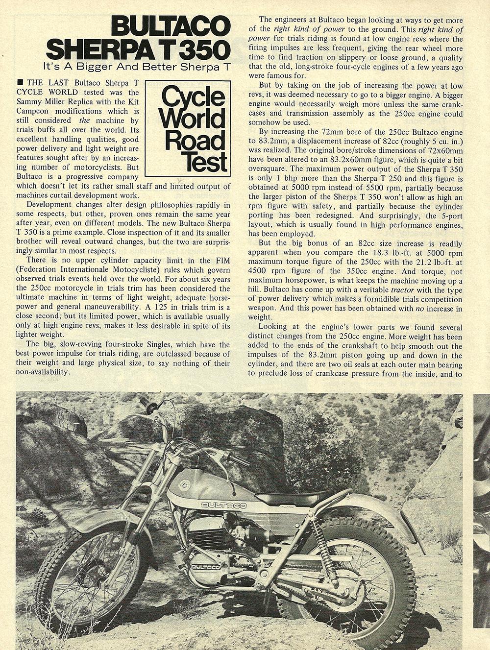 1972 Bultaco Sherpa T 350 road test 01.jpg