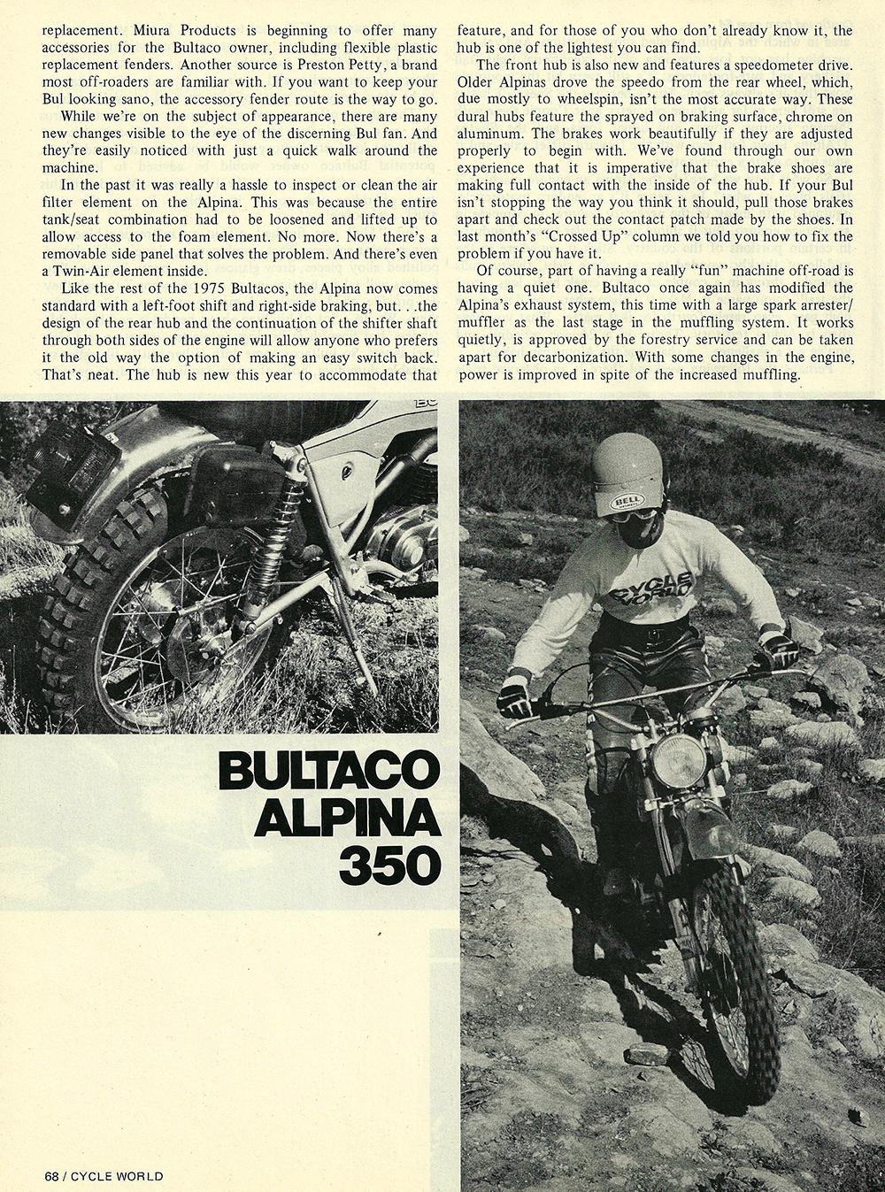 1975 Bultaco Alpina 350 road test 03.jpg