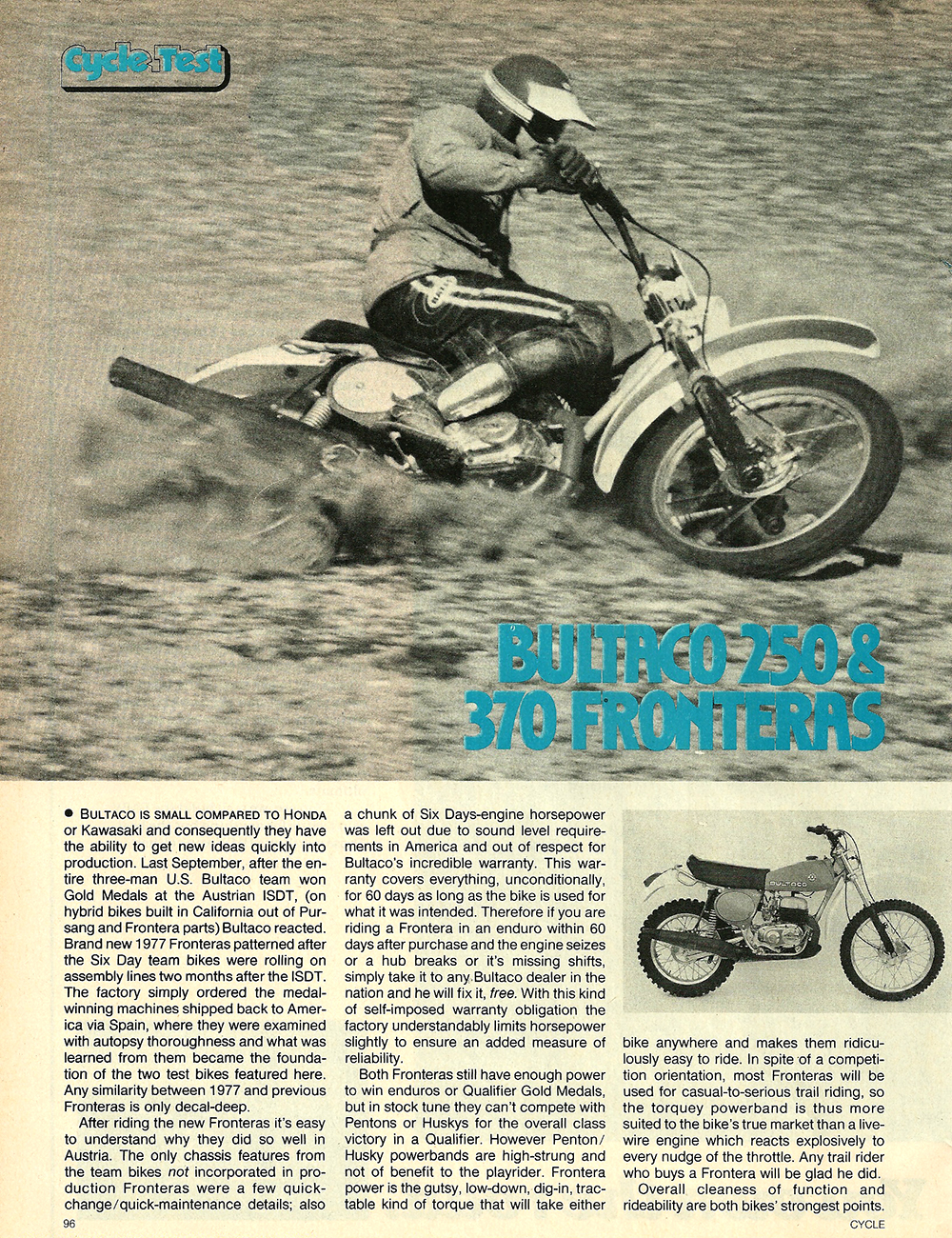 1977 Bultaco 250 and 380 Frontera road test 1.jpg