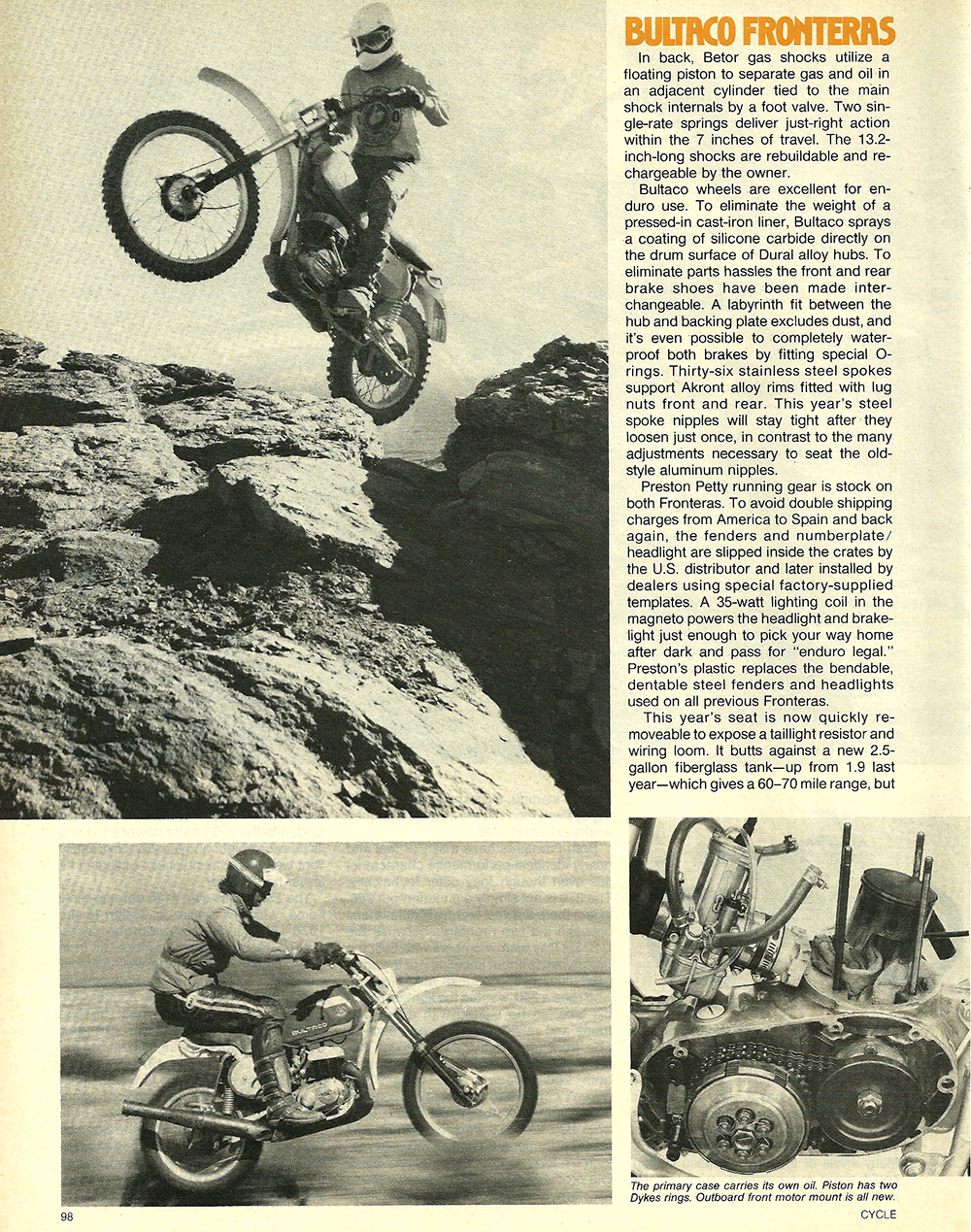 1977 Bultaco 250 and 380 Frontera road test 3.jpg