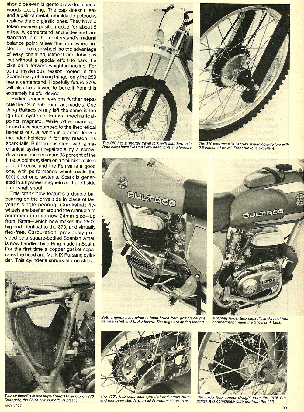 1977 Bultaco 250 and 380 Frontera road test 4.jpg