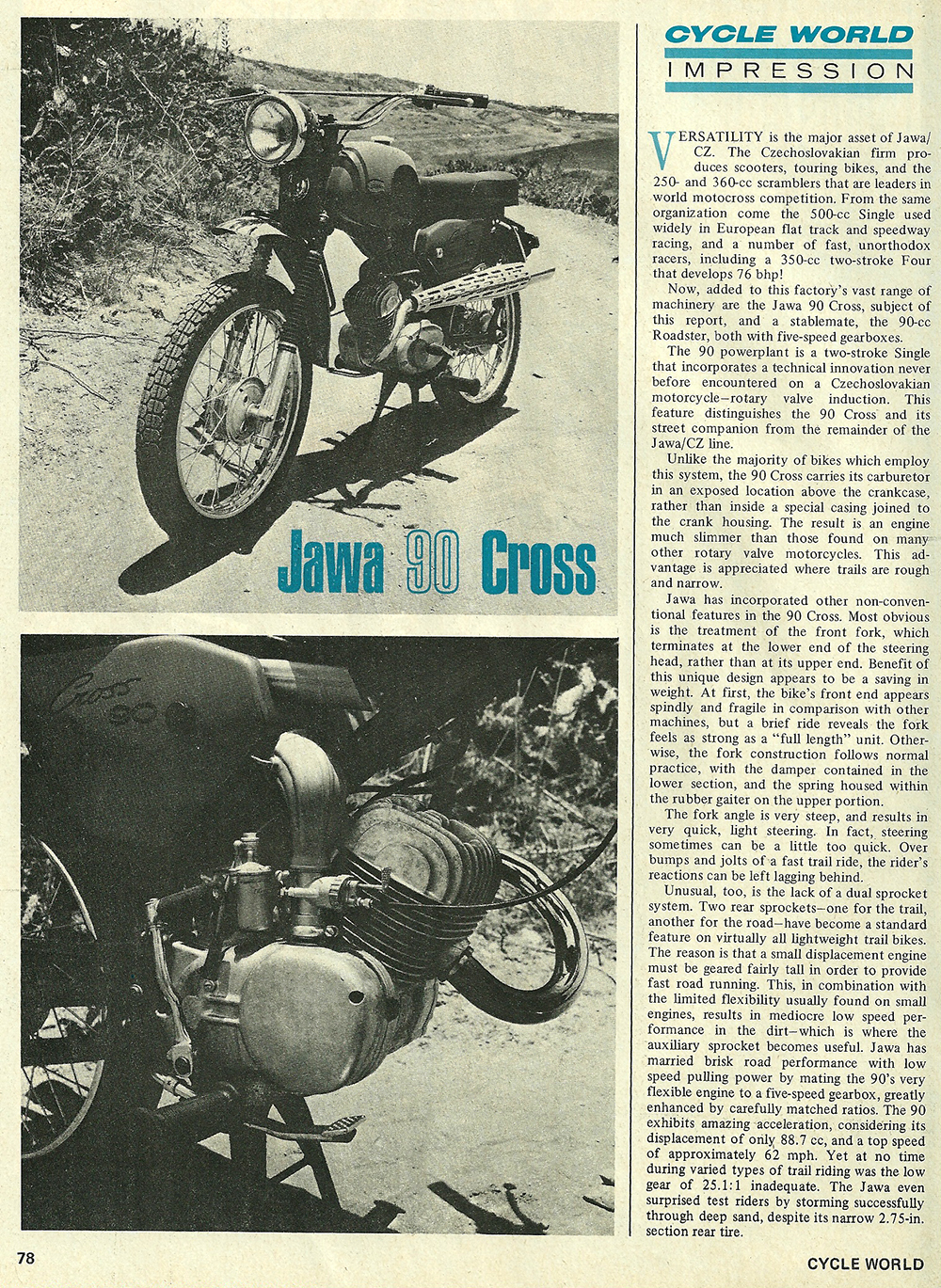 1968 Jawa 90 Cross road test 01.jpg