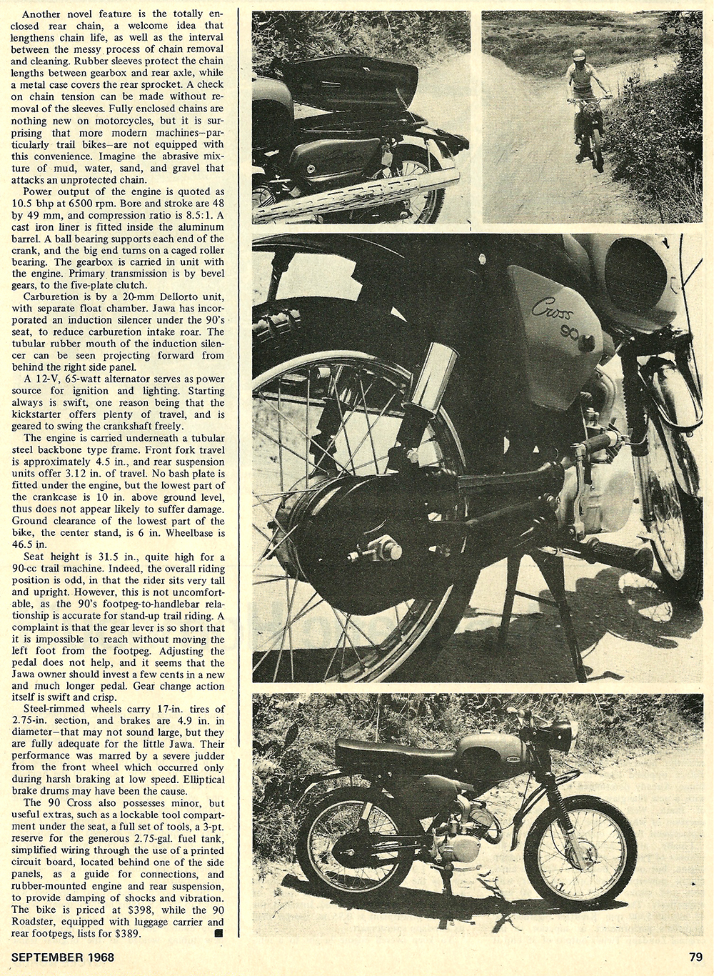 1968 Jawa 90 Cross road test 02.jpg