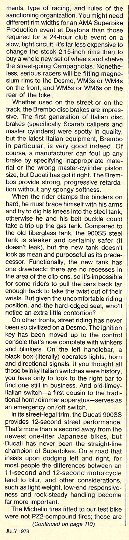 1978 Ducati Desmo 900 Super Sport road test 10.jpg