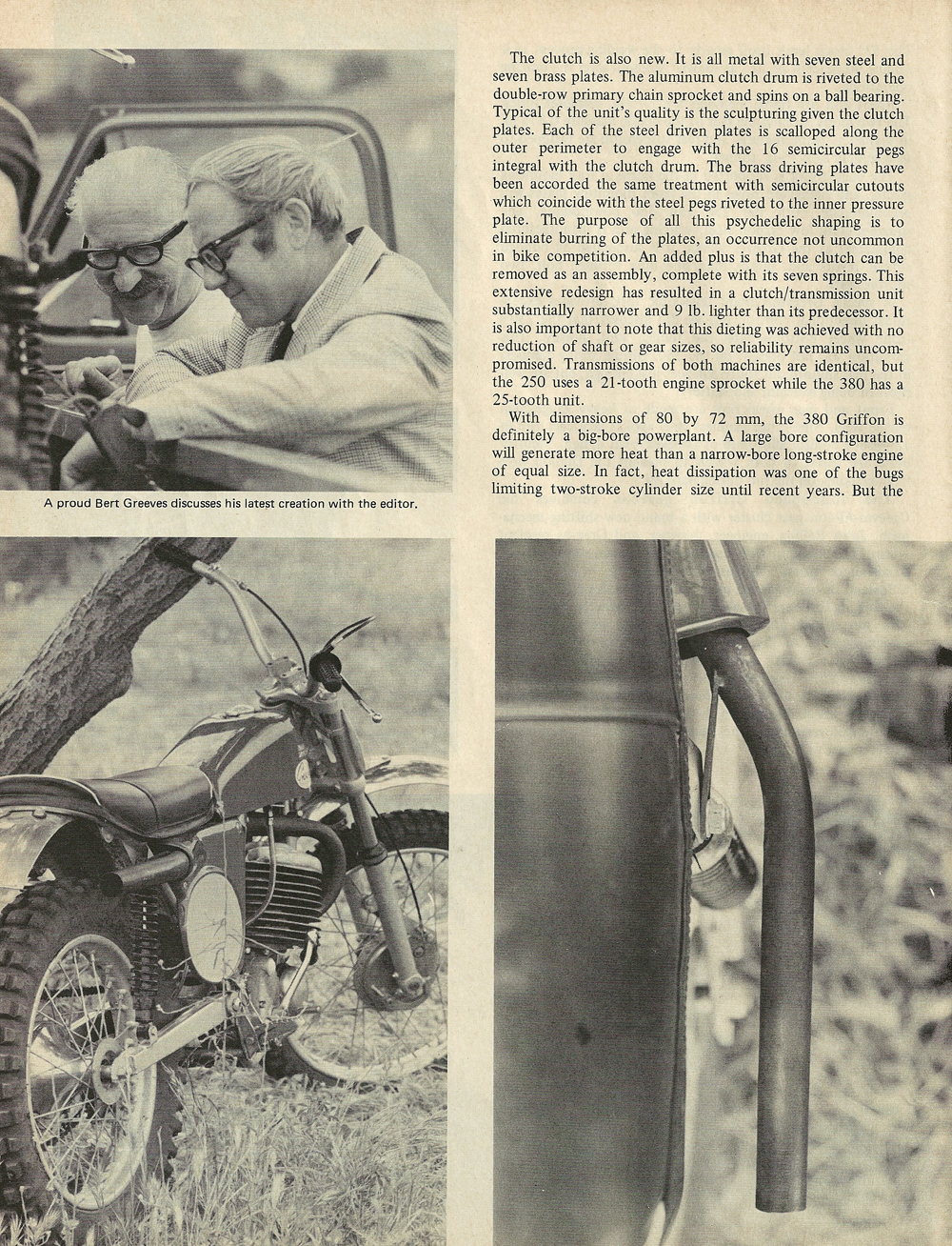 1969 Greeves Griffon 380 and 250 road test 3.jpg