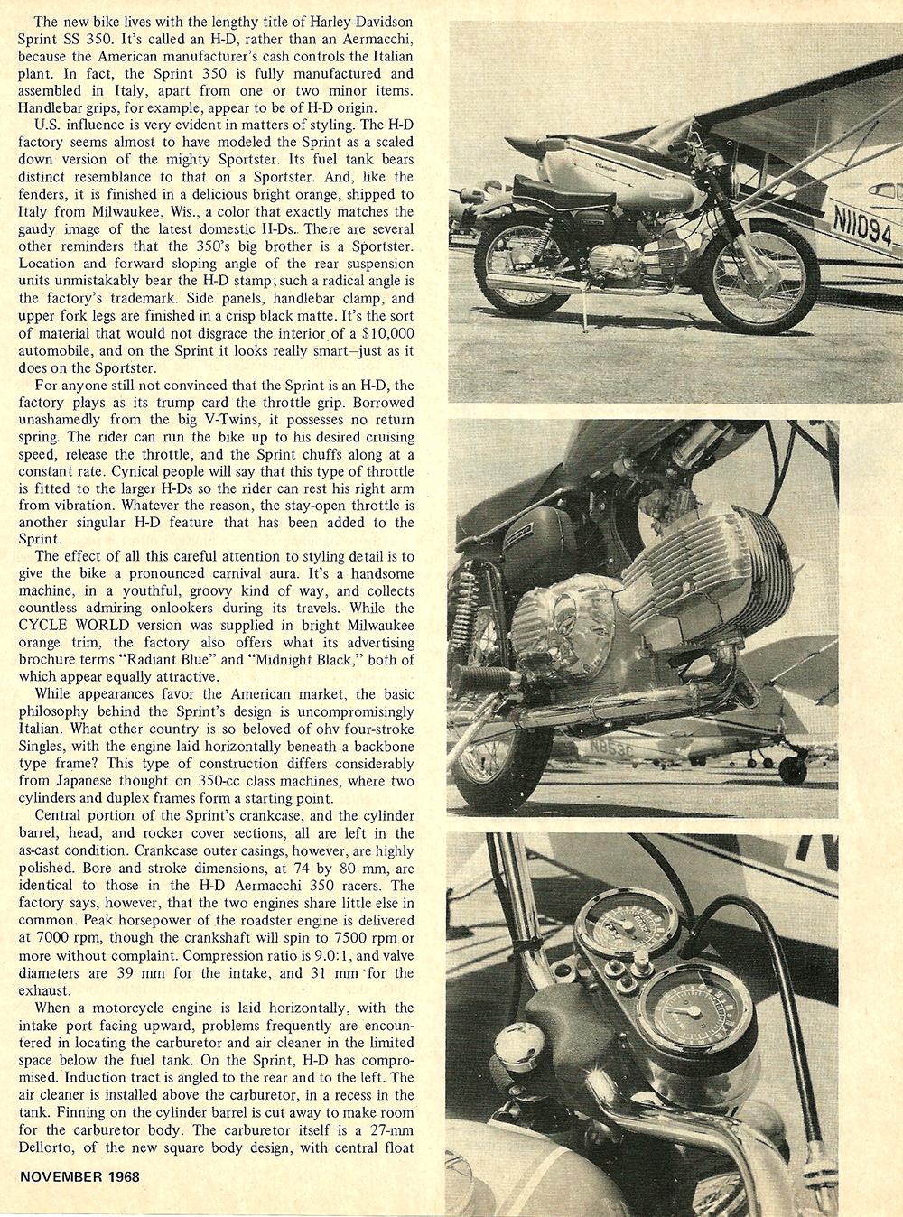 1968 Harley Sprint ss 350 road test 02.jpg