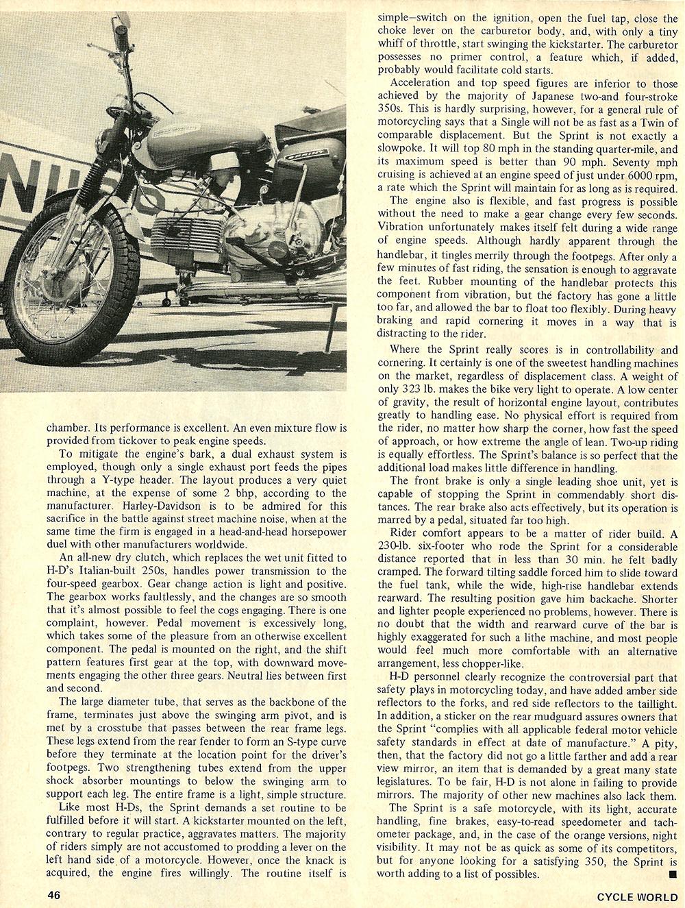 1968 Harley Sprint ss 350 road test 03.jpg