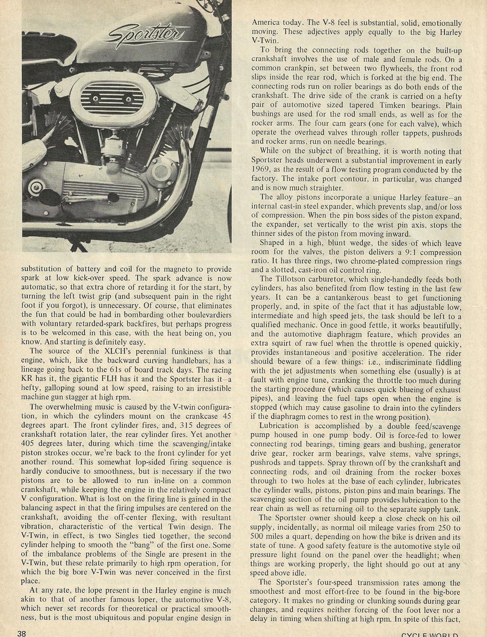 1969 Harley Davidson Sportster XLCH road test 2.jpg