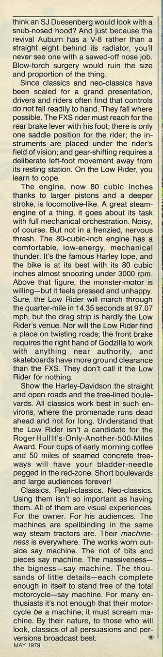 1979 Honda CX500 vs Harley FXS-80 Lowrider 10.jpg
