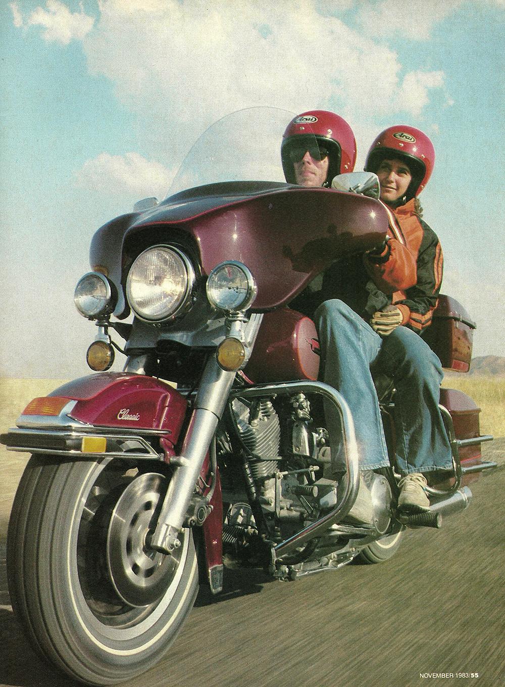 1983 Harley-Davidson FLHTC road test 02.jpg