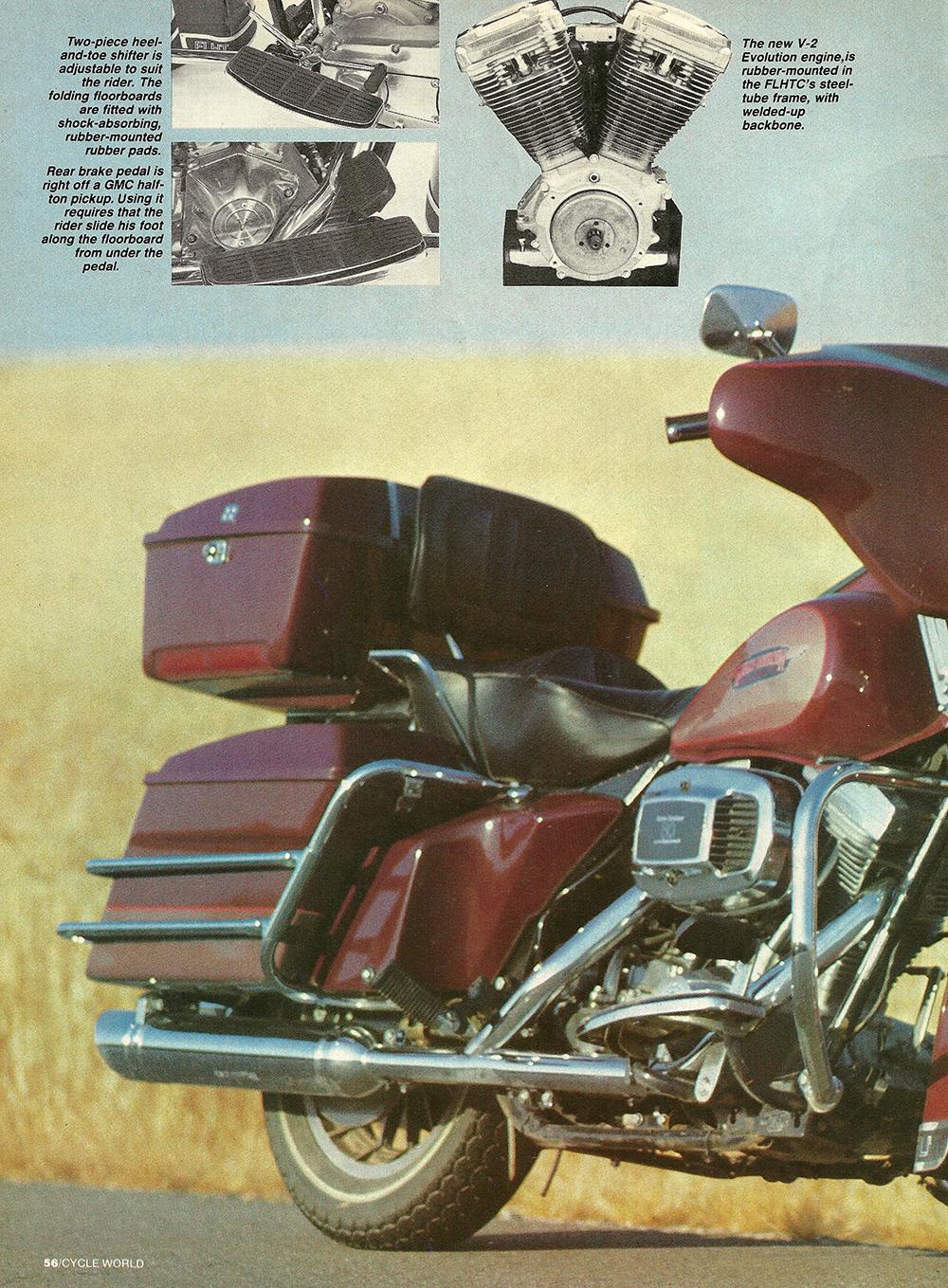 1983 Harley-Davidson FLHTC road test 03.jpg