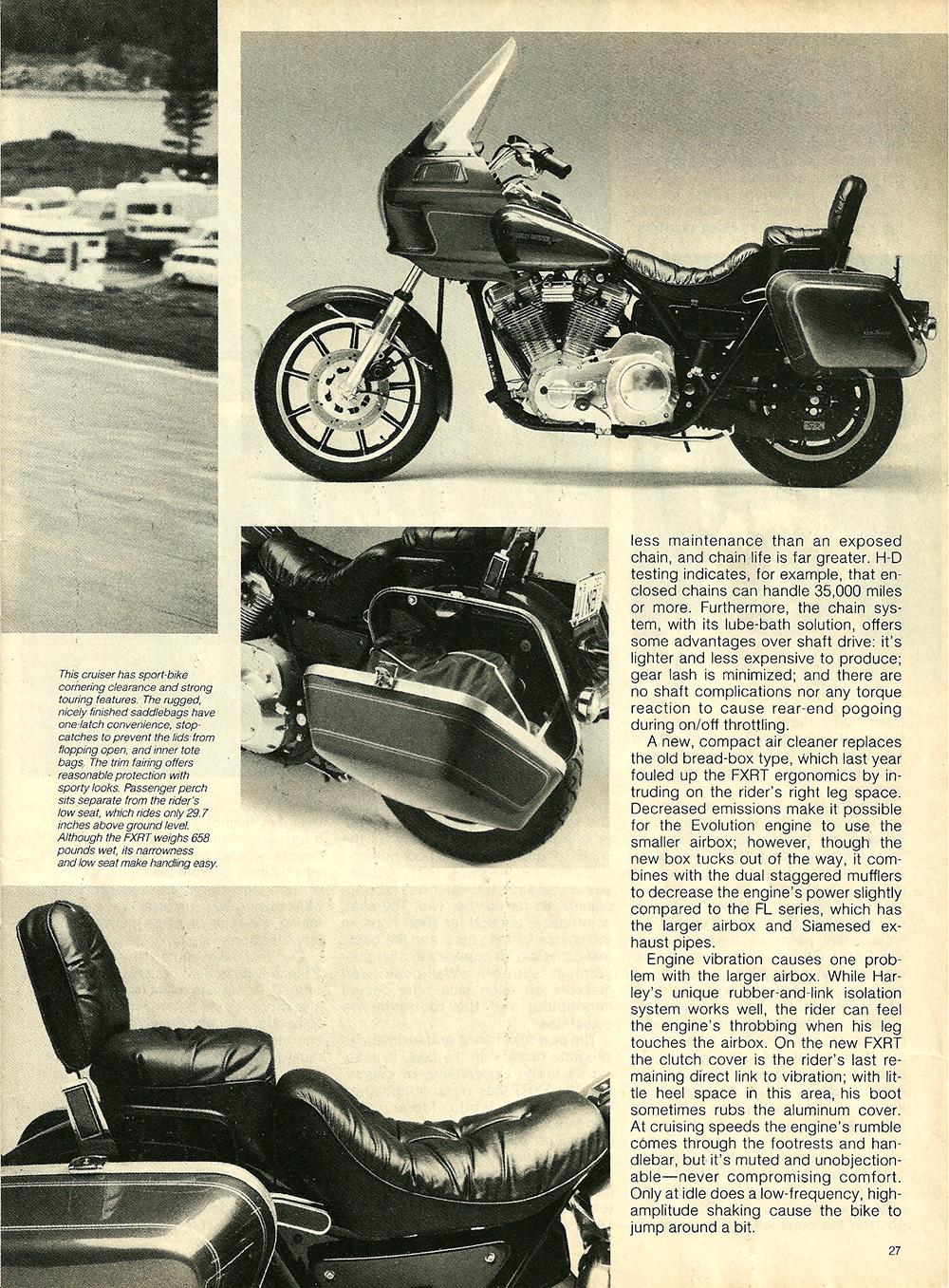 1983 Harley Davidson FXRT Sport Glide road test 4.jpg