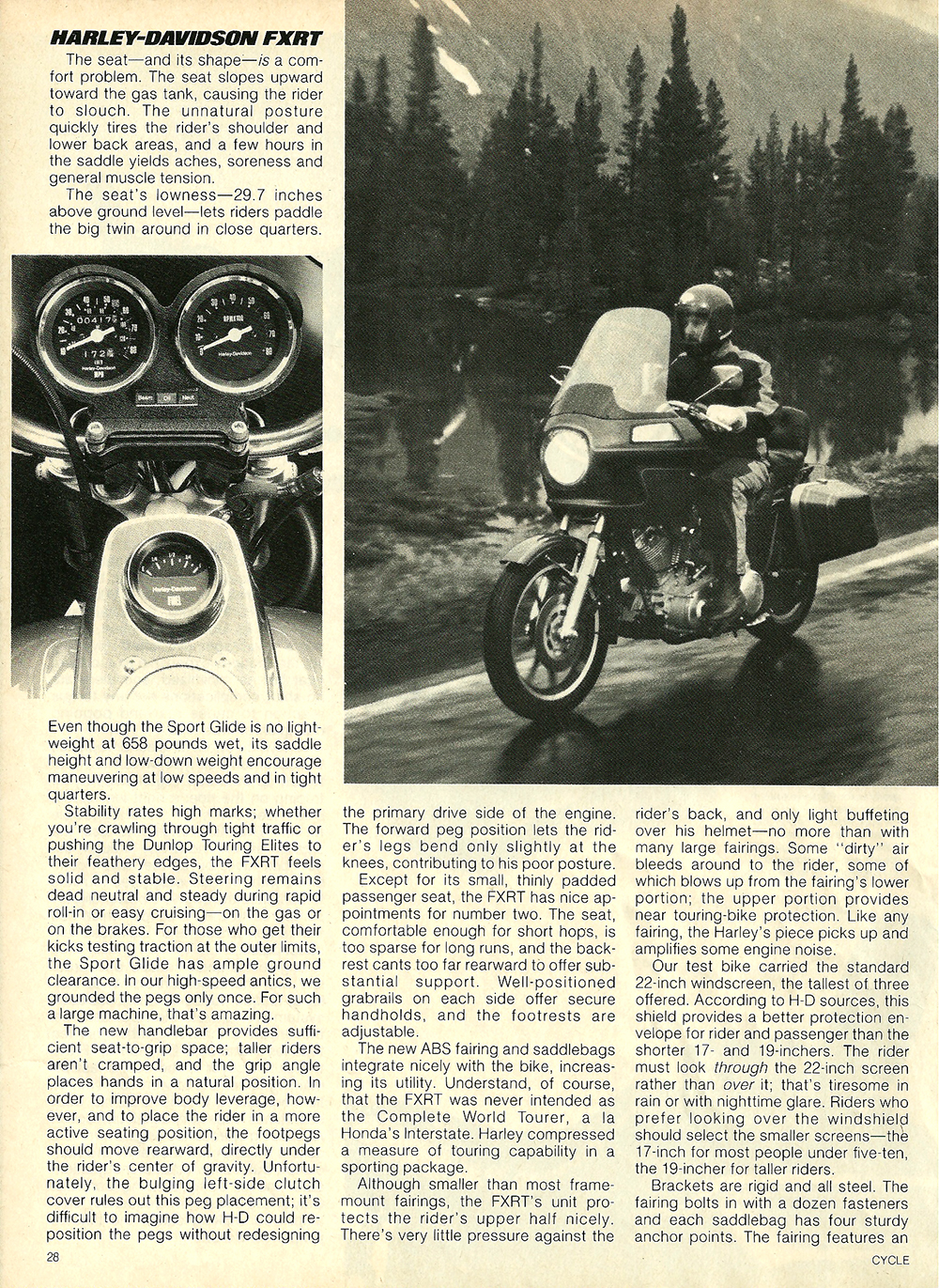 1983 Harley Davidson FXRT Sport Glide road test 5.jpg