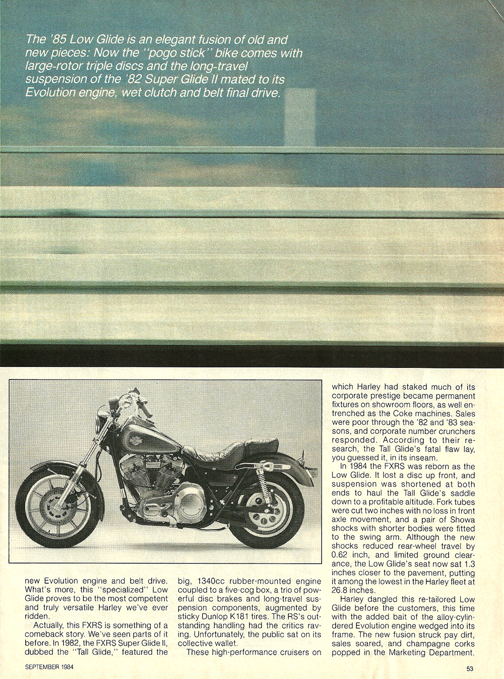 1984 Harley-Davidson Low Glide FXRS road test 4.jpg