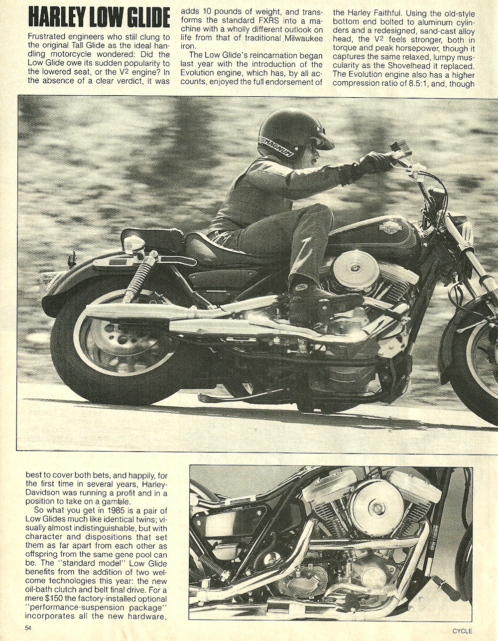 1984 Harley-Davidson Low Glide FXRS road test 5.jpg