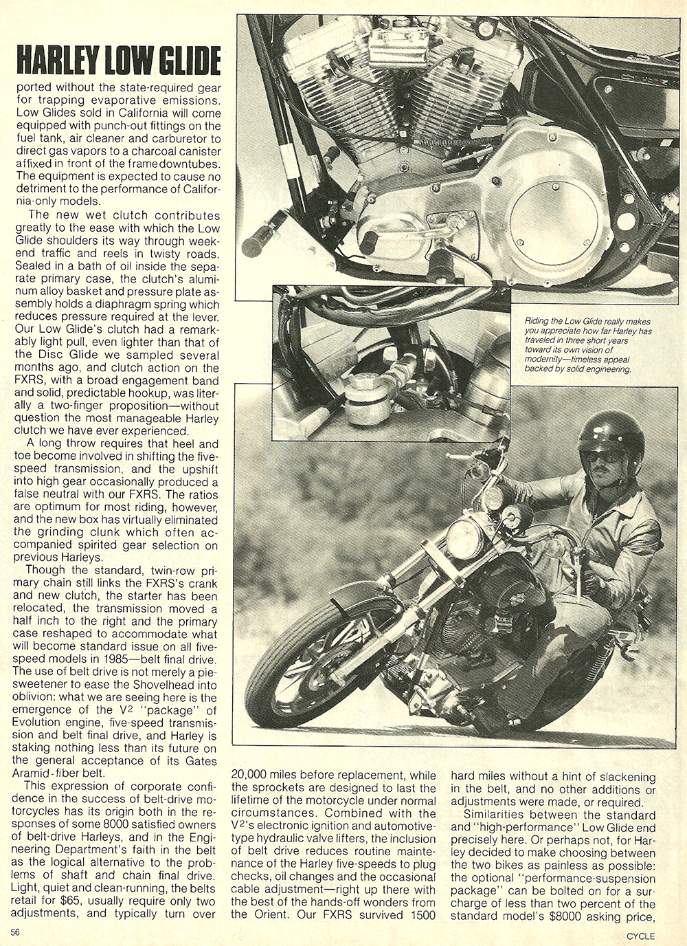 1984 Harley-Davidson Low Glide FXRS road test 7.jpg