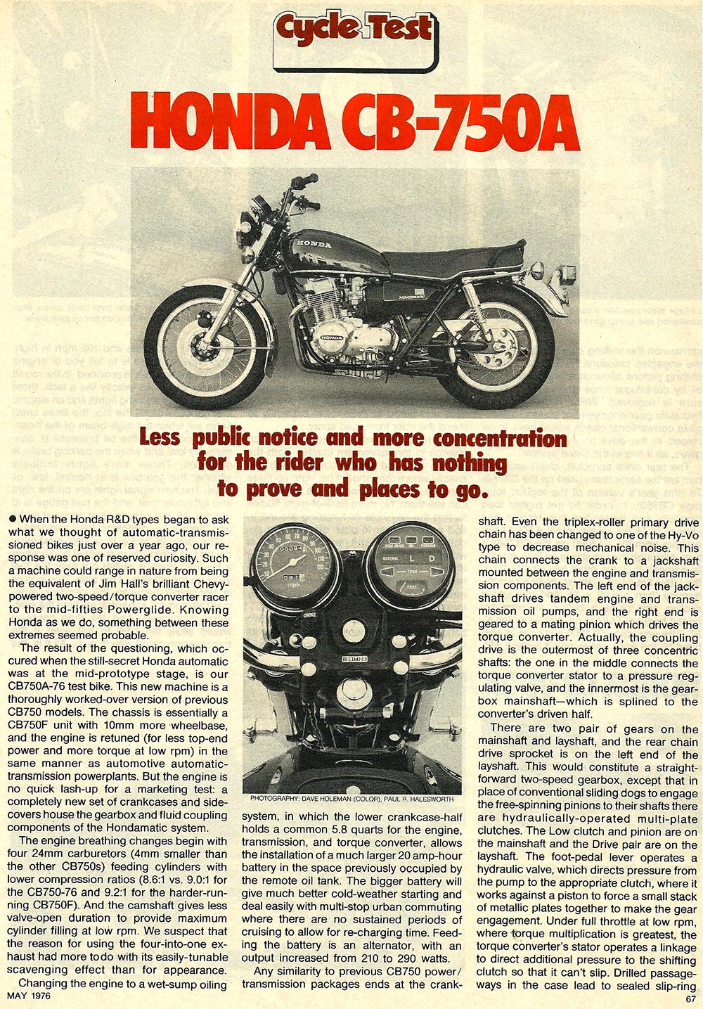 1976 Honda CB750A road test 2.JPG