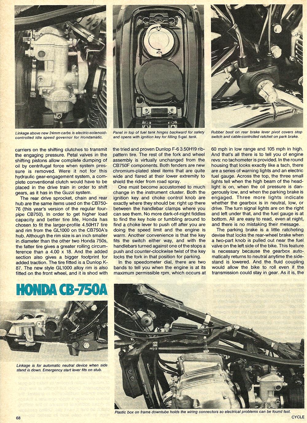 1976 Honda CB750A road test 3.JPG