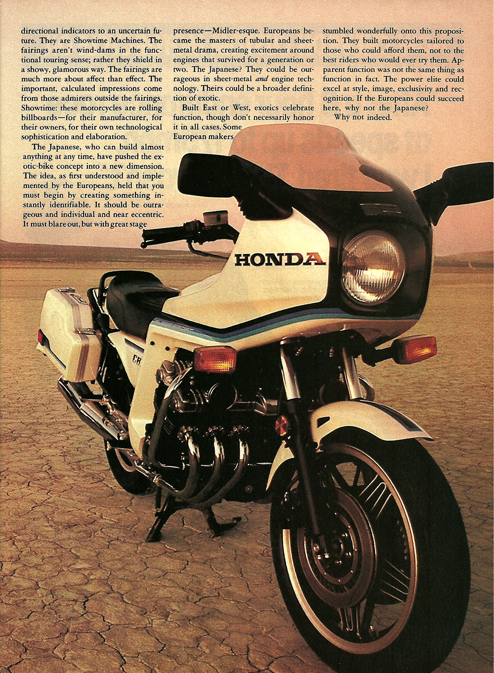 1982 Honda CBX vs CX 500 Turbo road test 02.jpg