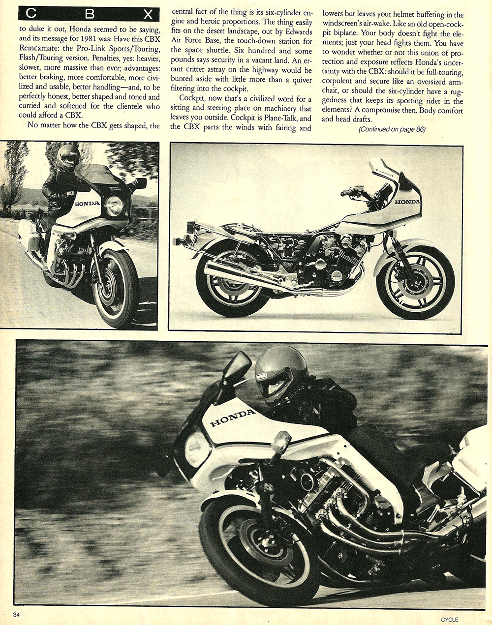 1982 Honda CBX vs CX 500 Turbo road test 04.jpg