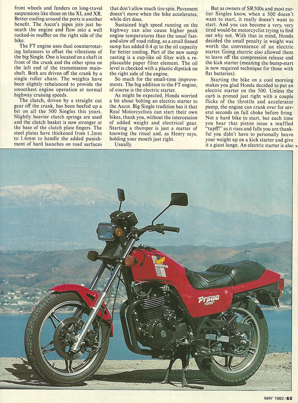 1982 Honda FT500 Ascot road test 04.jpg