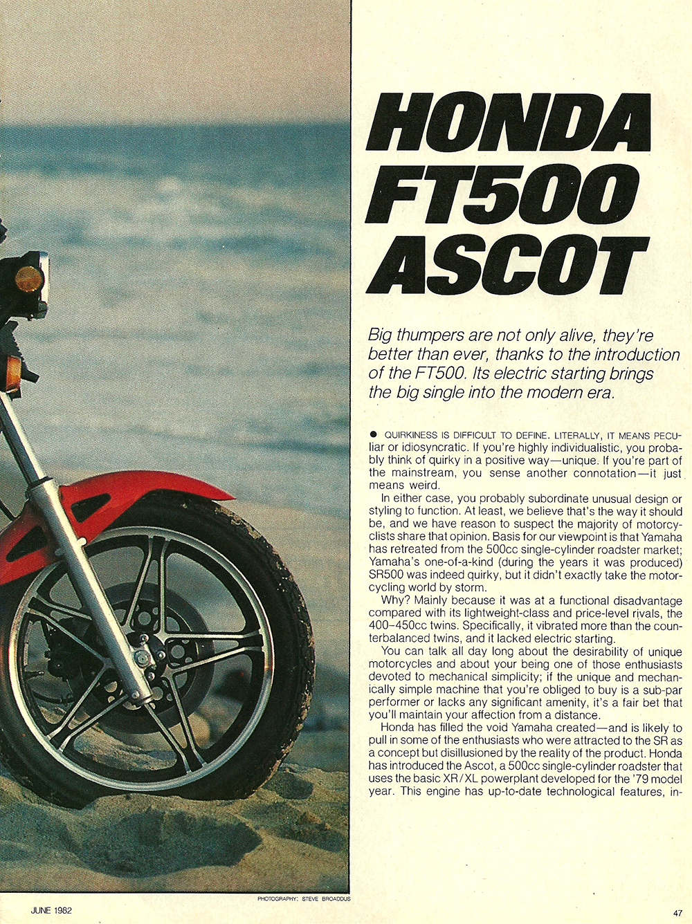 1982 Honda FT500 Ascot road test 2 02.jpg