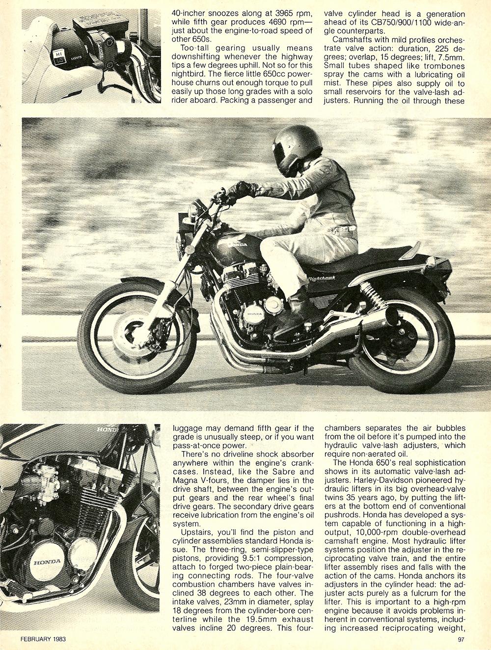 1983 Honda CB650SC Nighthawk road test 4.jpg