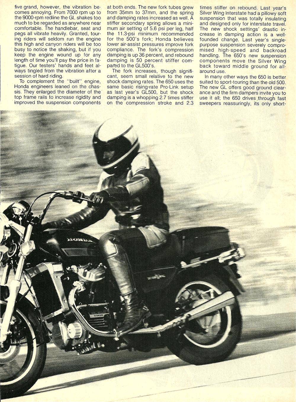 1983 Honda GL650 Silver Wing road test 5.jpg