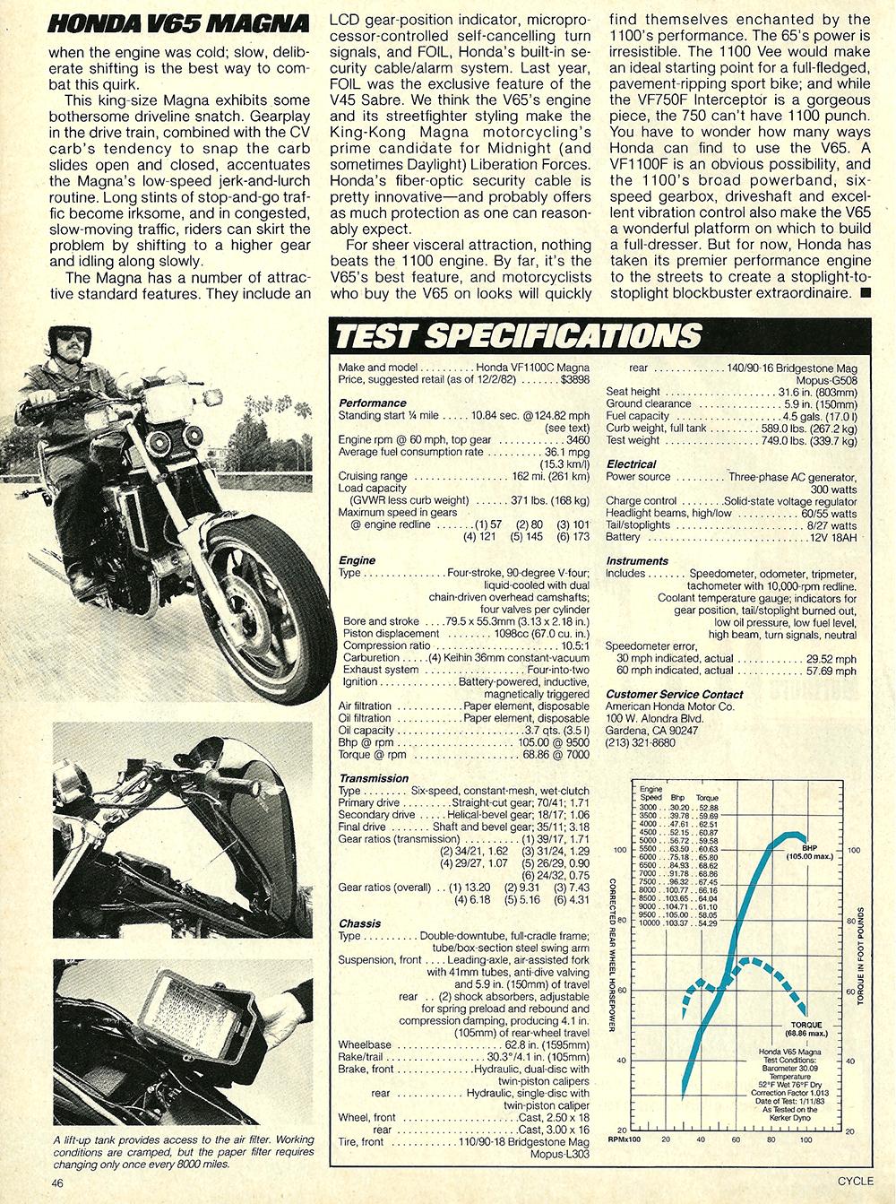 1983 Honda V65 Magna road test 8.jpg