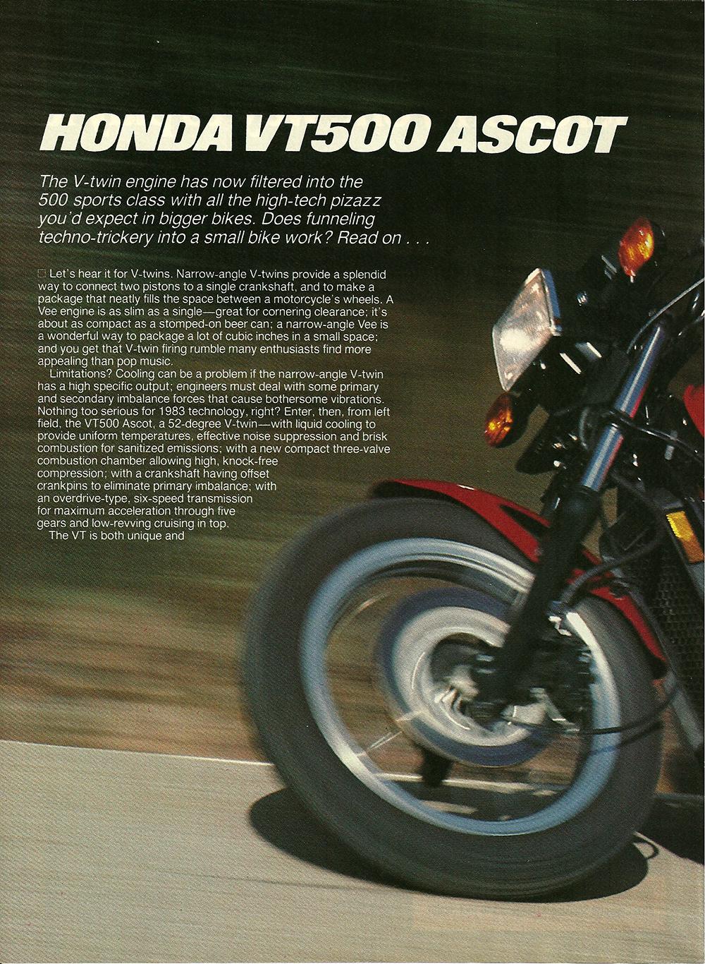 1983 Honda VT500 Ascot road test 1.jpg