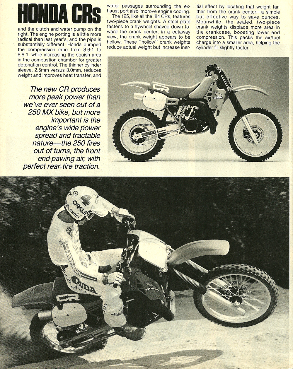 1984 Honda CR 125 250 500 road test 05.jpg