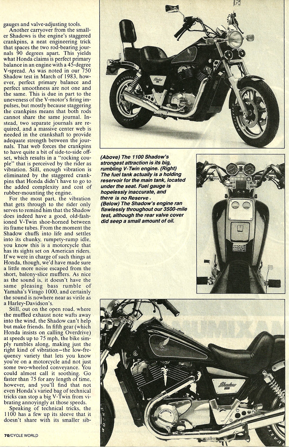 1985 Honda VT1100 Shadow road test 04.jpg