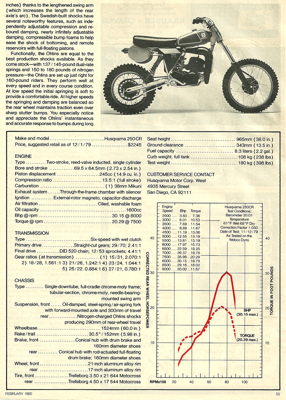 1980 Husqvarna 250 CR road test 6.jpg