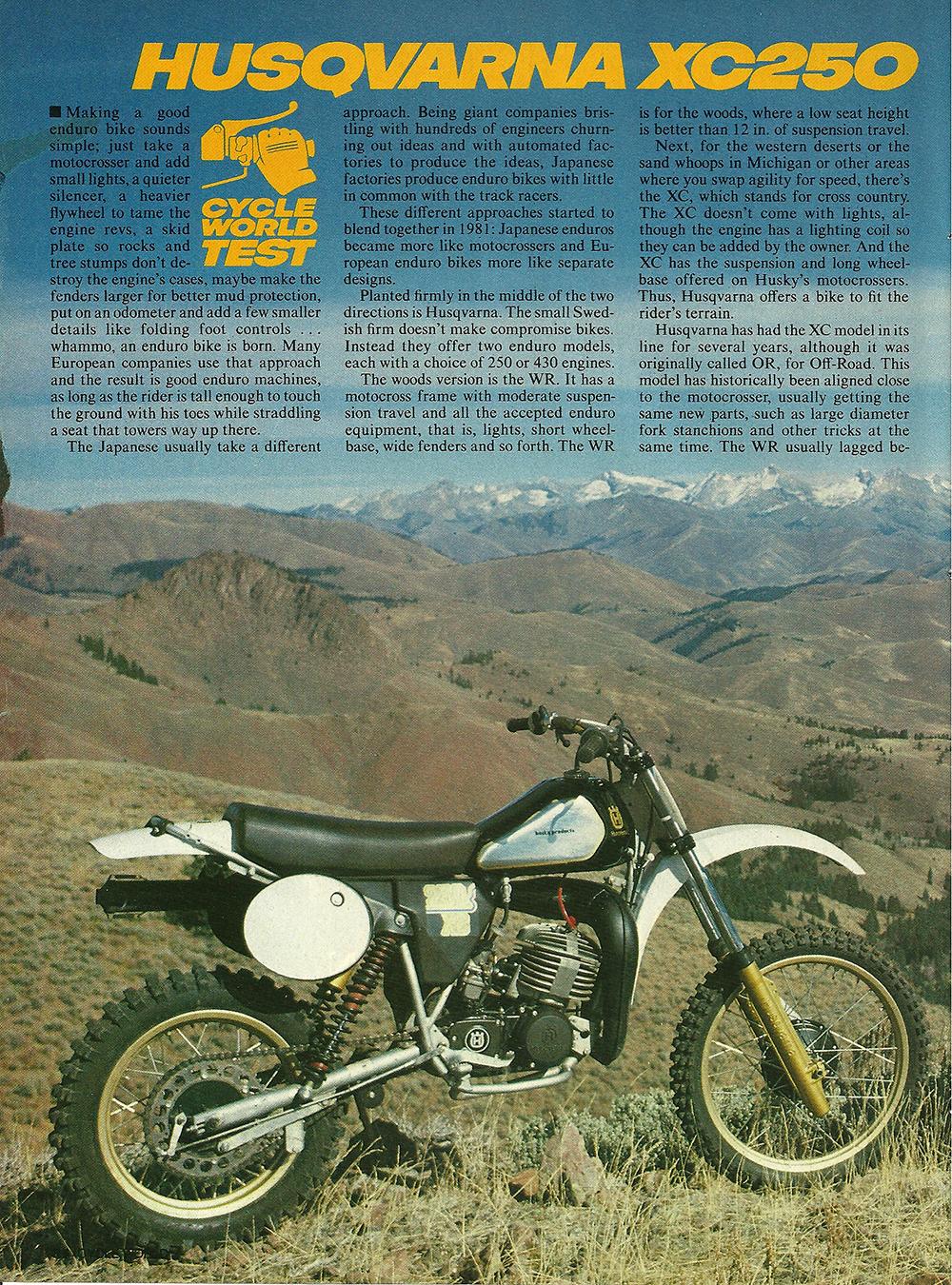 1982 Husqvarna XC250 WR250 road test 1.jpg