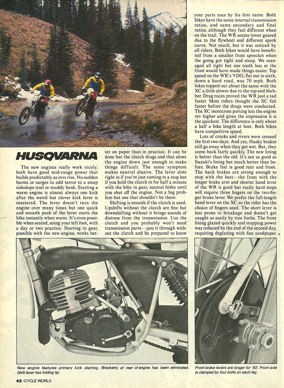 1982 Husqvarna XC250 WR250 road test 5.jpg