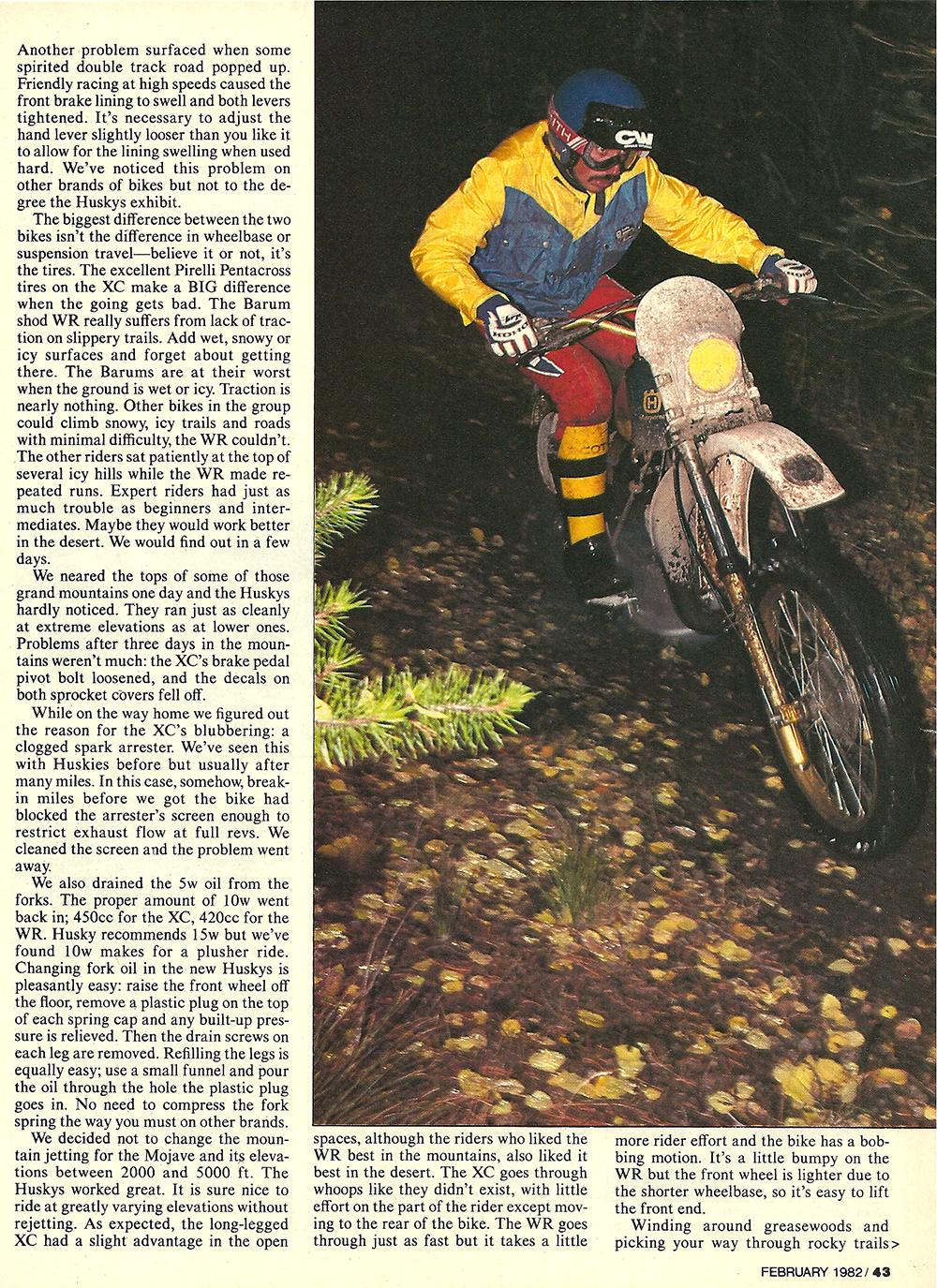 1982 Husqvarna XC250 WR250 road test 6.jpg