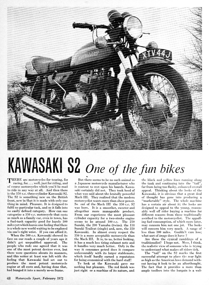 1972 Kawasaki 350 S2 road test 1.jpg