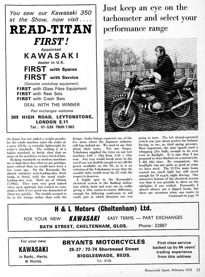 1972 Kawasaki 350 S2 road test 3.jpg