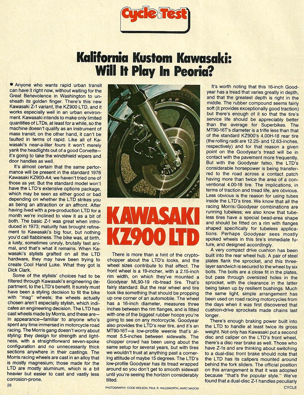 1976 Kawasaki KZ900 LTD road test 1.jpg