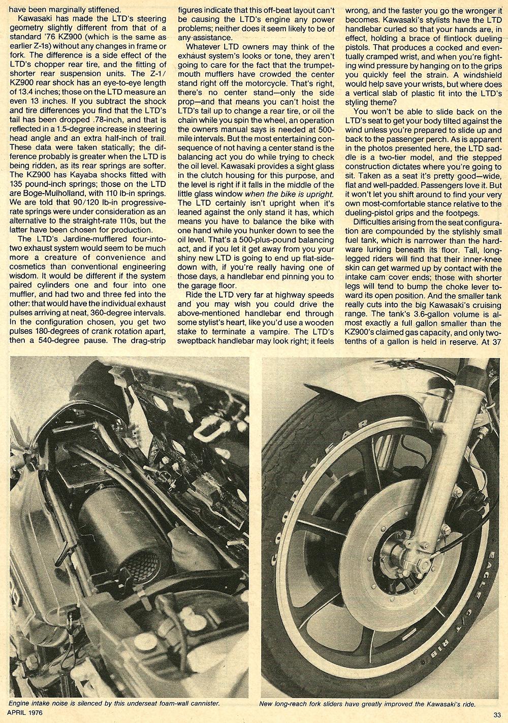 1976 Kawasaki KZ900 LTD road test 4.jpg